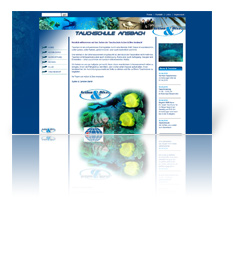 Webdesign Ansbach - Tauchschule Action & Dive