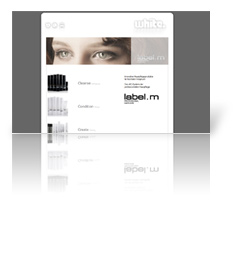 Webdesign Ansbach - White. Frisuren